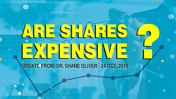Are Shares Expensive? Read This Shane Oliver Updates